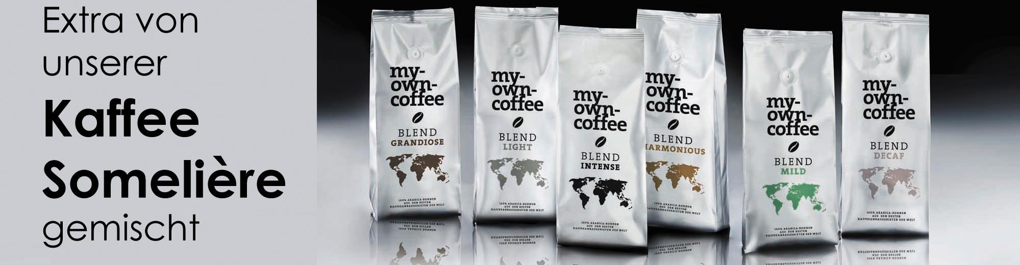 BLENDS von unserer Kaffee Sommelière