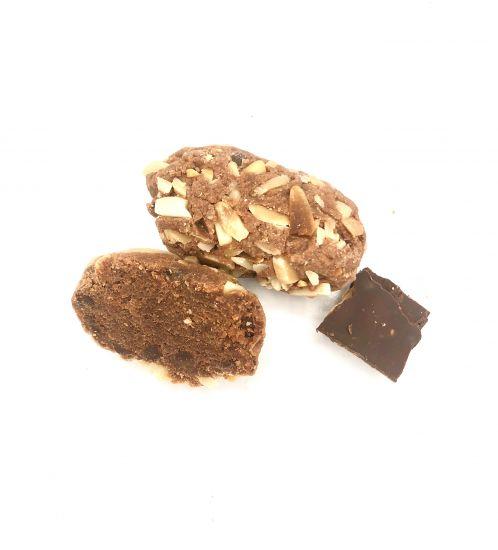 Choklad Bollar-feines handgefertigtes italienisches Mandelgebäck 40g