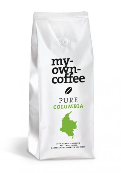 PURE Columbio Kooperativen Kaffee