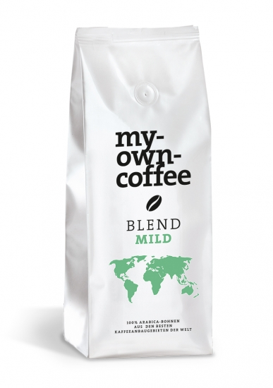 BLEND Mild Kaffeebohnen
